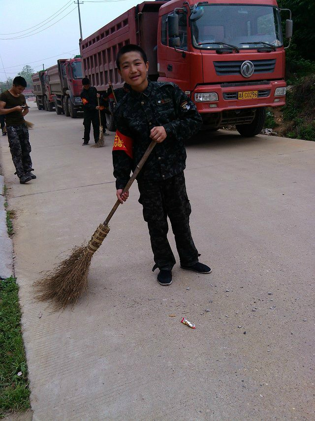 参加志愿者活动